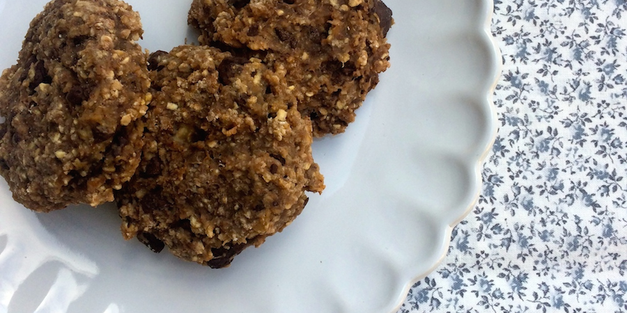 Små Banankager Med Mørk Chokolade Og Fuldkorn Carrotstickdk