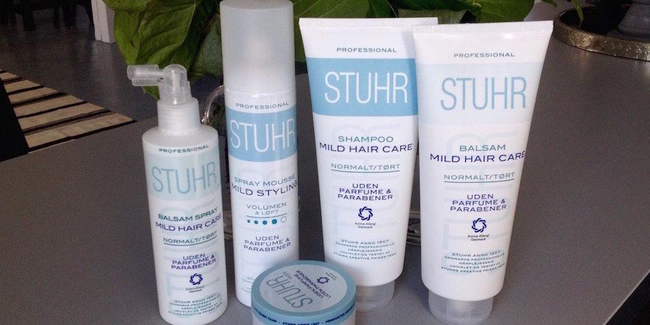hårprodukter uden parfume og parabener