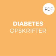 diabetes opskrifer