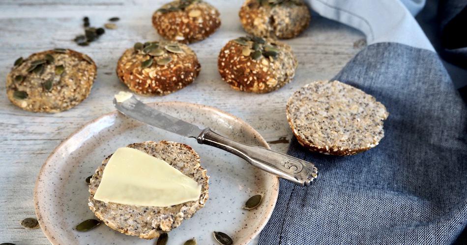 Glutenfri proteinboller