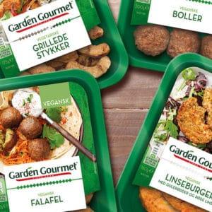 garden gourmet vegetariske og veganske færdigretter anmemeldelse