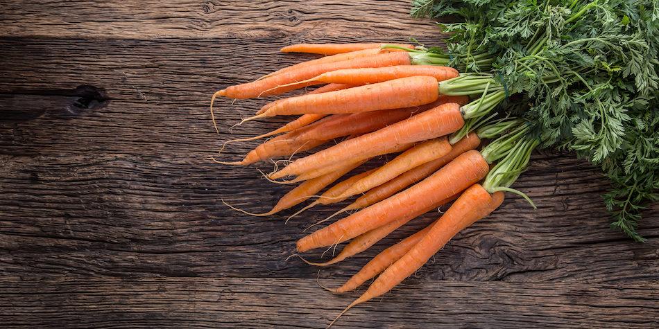 koge gulerødder tid