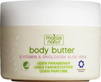 Matas Natur Body Butter til 79,95 kr. hos matas.dk